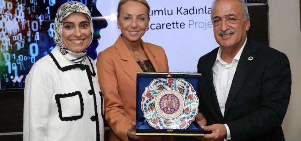 Erzurumlu Kadınlar e-ticaret projesi görüşüldü -